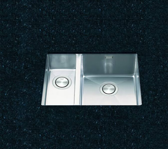 Clearwater Stereo 580 x 430mm 1.5 Bowl Kitchen Sink