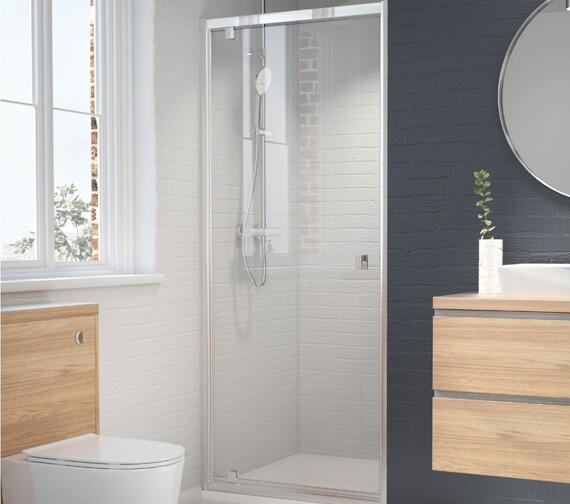 Kudos Original6 1950mm High Straight Pivot Shower Door