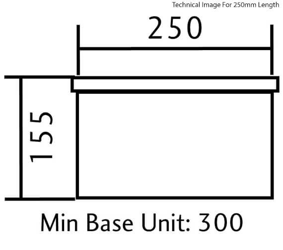 Technical drawing QS-V12153 / CRUB4825WH/