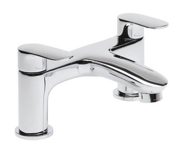 Tavistock Avid Chrome Deck Mounted Bath Filler Tap