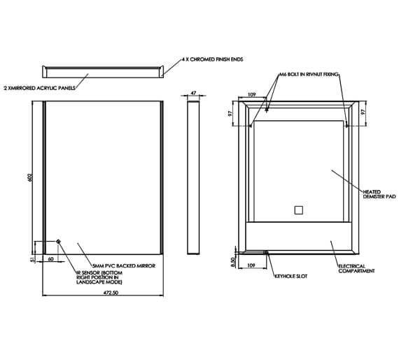 Technical drawing QS-V74865 / MLE530