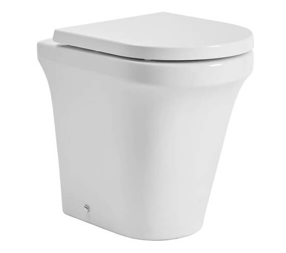 Tavistock Aerial Comfort Height Back To Wall Toilet With Soft Close Seat