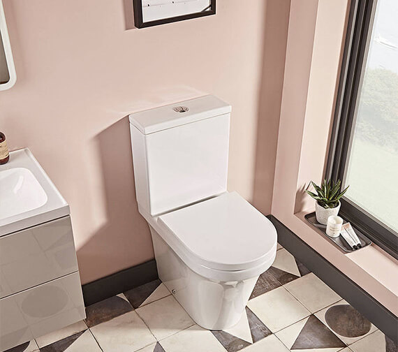 Tavistock Aerial Comfort Height Open Back Close Coupled WC