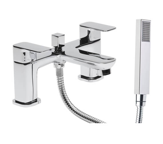 Tavistock Haze Deck Mounted Bath Shower Mixer Tap With Handset