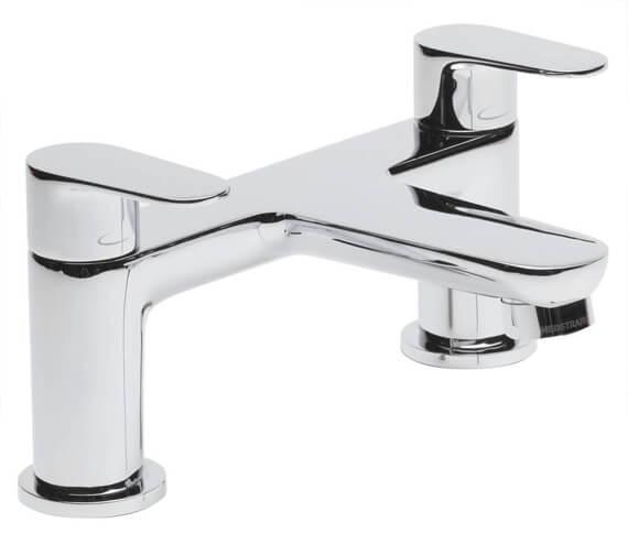 Tavistock Zero Deck Mounted Chrome Bath Filler Tap