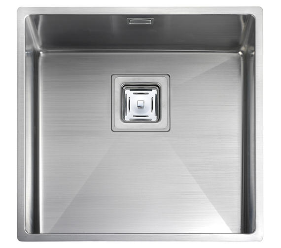Rangemaster Atlantic Kube Stainless Steel 1.0B Undermount Sink