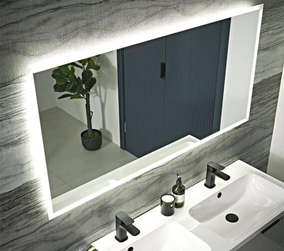 Alternate image of Tavistock Beta Minimalist LED Illuminated Bathroom Mirror