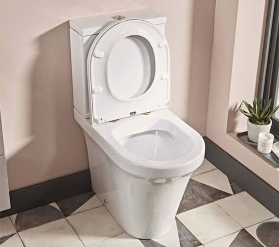 Tavistock Aerial Comfort Height Fully Enclosed Close Coupled WC