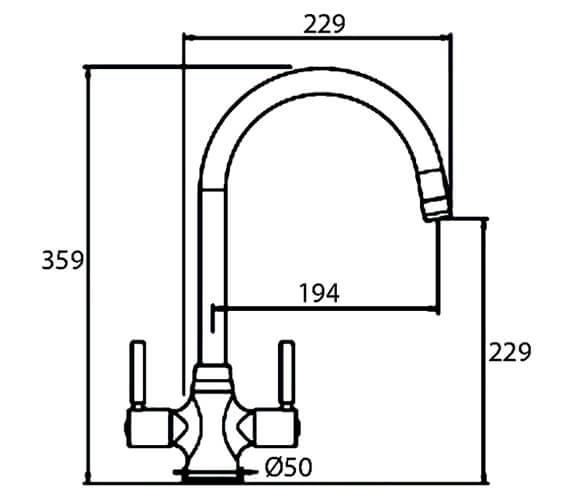 Technical drawing QS-V102389 / DAVCP