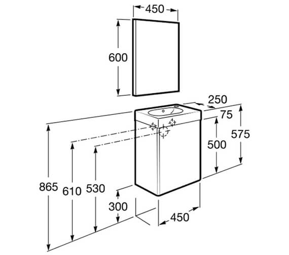 Technical drawing QS-V86299 / 855873806