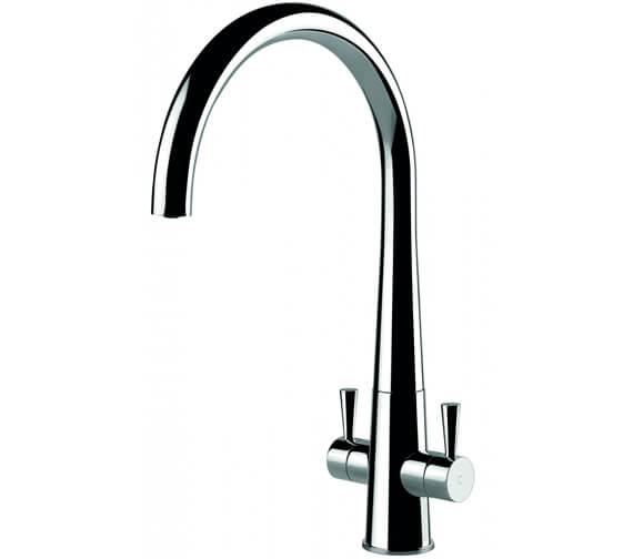 Clearwater Corona C Twin Lever Monobloc Kitchen Sink Mixer Tap