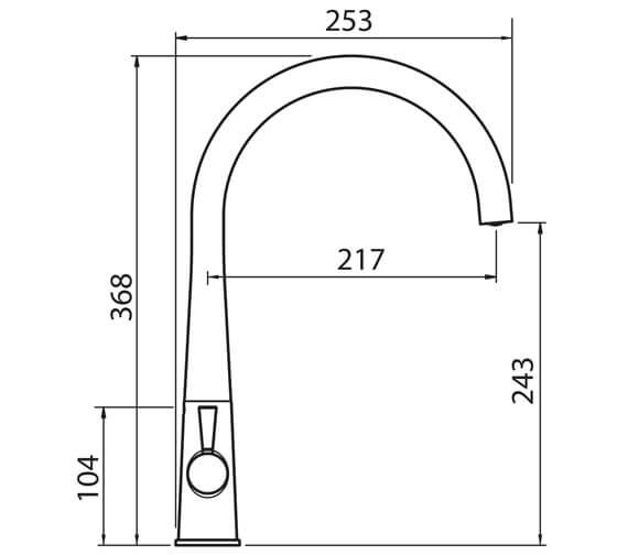 Technical drawing QS-V102390 / COR2CP