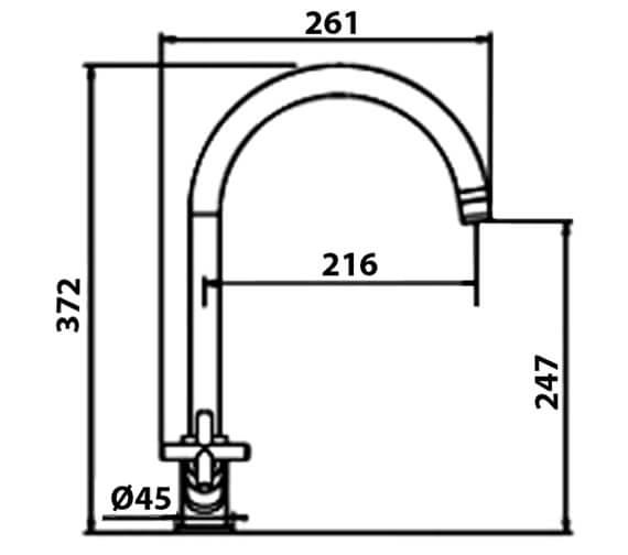 Technical drawing QS-V102395 / RO2CP