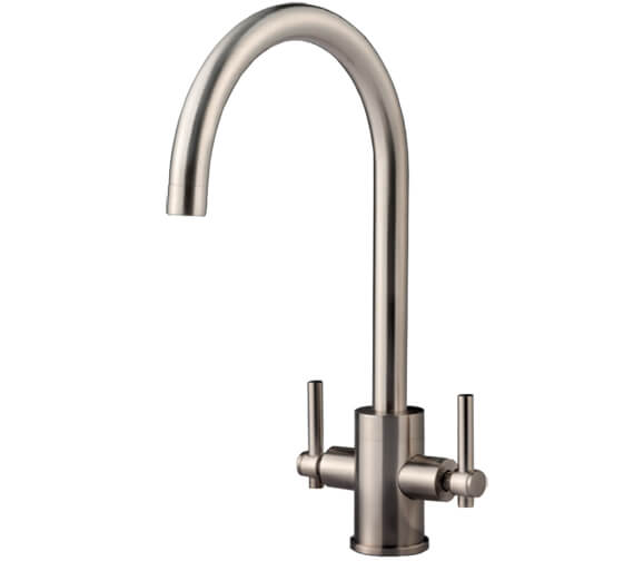Additional image of Clearwater Rococo C Twin Lever Monobloc Kitchen Sink Mixer Tap