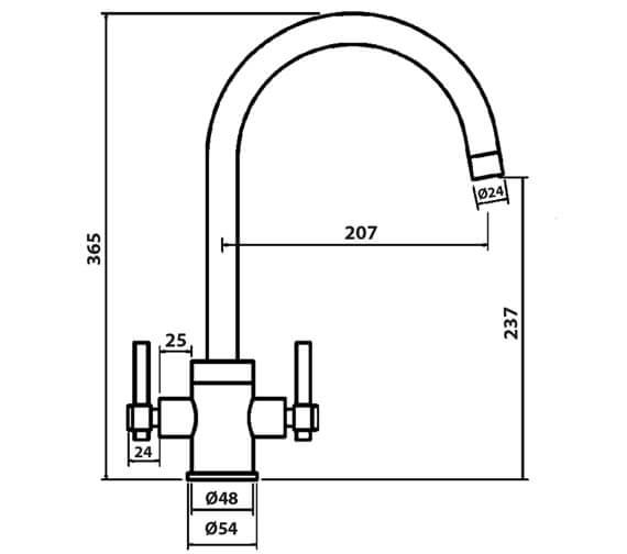 Technical drawing QS-V102392 / RO81062CP
