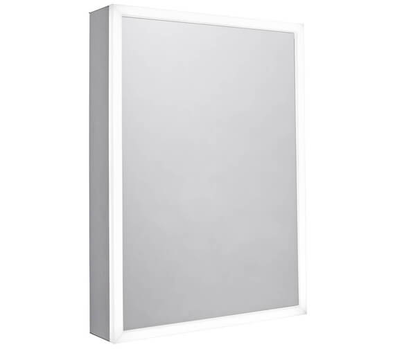 Tavistock Flex Single Door LED Illuminated Modern Mirror Cabinet 500 x 700mm