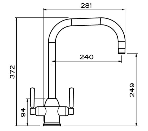 Technical drawing QS-V102393 / CAMCP