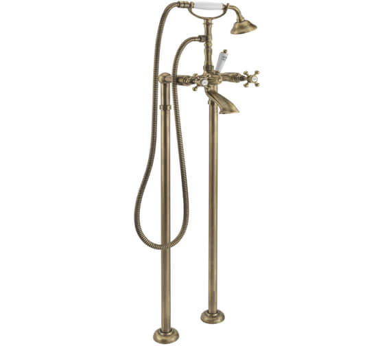 Alternate image of Tre Mercati Allora Floor Mounted Bath Shower Mixer Tap With Kit