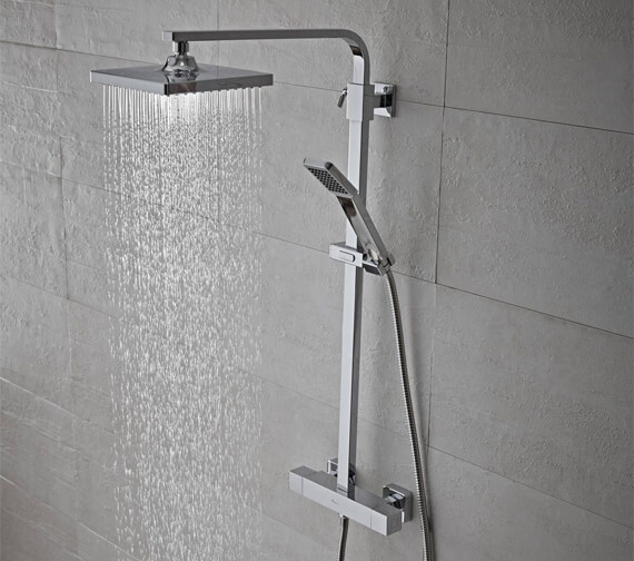 Tavistock Zone Thermostatic Dual Function Shower System