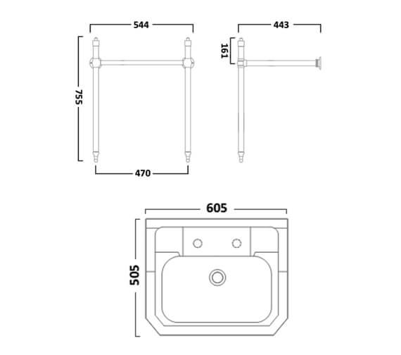 Technical drawing QS-V99382 / DC14024