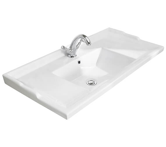 Alternate image of Bayswater Traditional Washbasin With Overflow