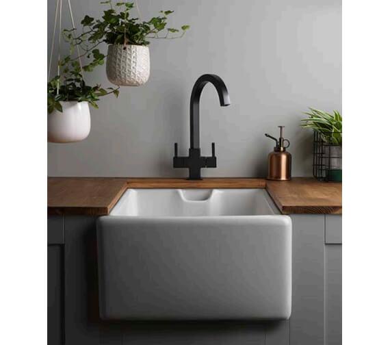 Additional image of Tre Mercati Winston Mono Kitchen Sink Mixer Tap