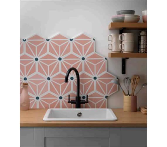 Additional image of Tre Mercati Peggy Sue Mono Kitchen Sink Mixer Tap