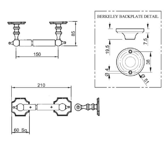 Technical drawing QS-V77597 / VCTRHMTLCHR