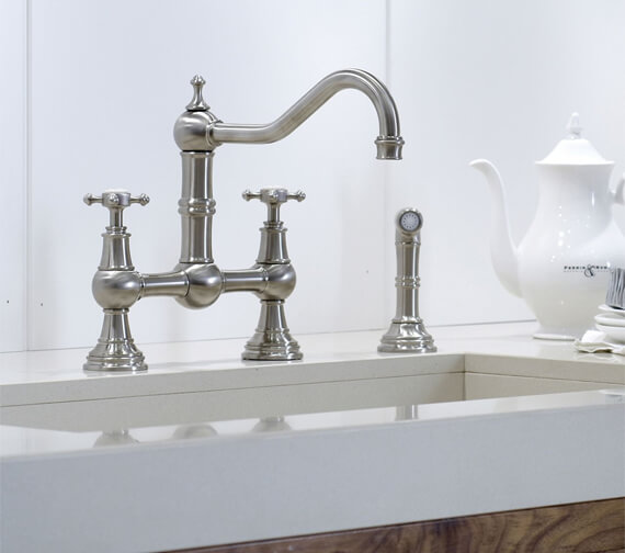 Perrin And Rowe Provence Kitchen Sink Mixer Tap And Rinse
