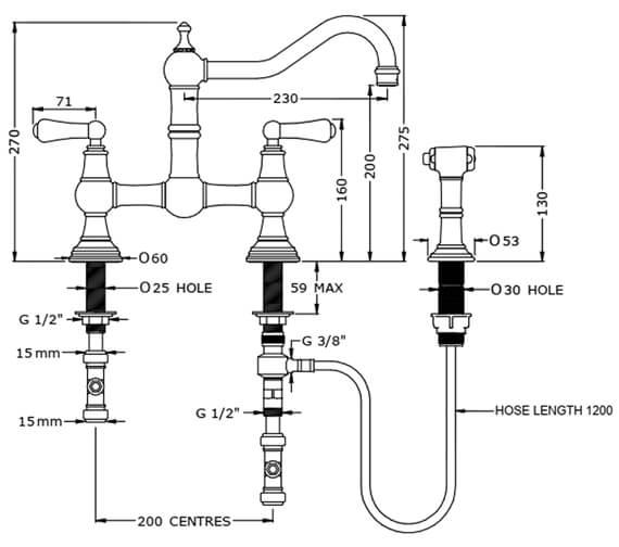 Technical drawing QS-V100293 / 4755CP