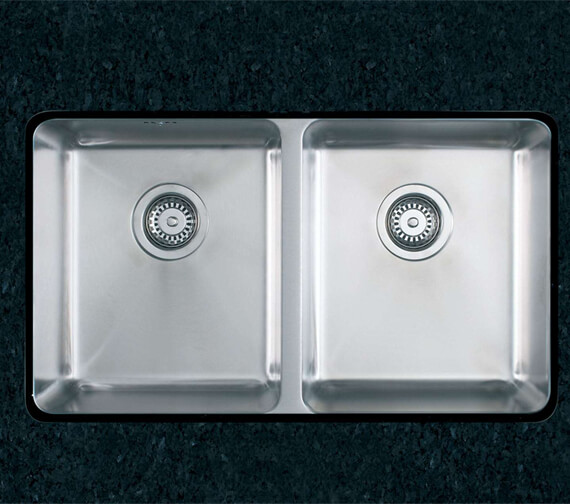 Clearwater Salsa 760 x 450mm Double Bowl Kitchen Sink