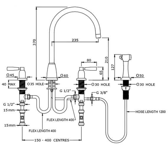 Technical drawing QS-V100291 / 4890CP