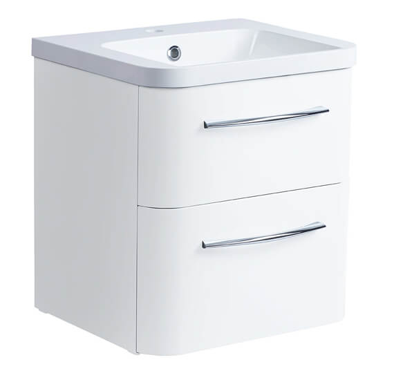 Roper Rhodes System Wall Mounted Double Drawer Unit