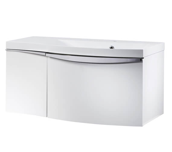 Roper Rhodes Serif 900mm Wall Hung Double Drawer Unit With Basin