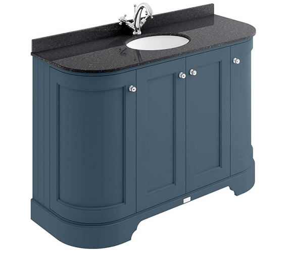 Additional image of Bayswater 1200mm 4 Door Curved Basin Cabinet
