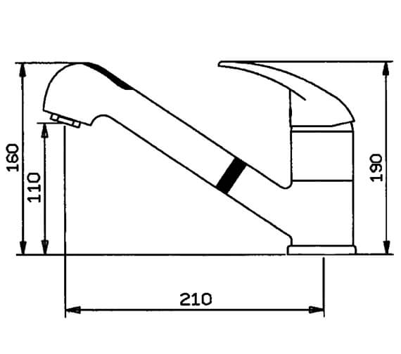 Technical drawing QS-V102405 / CREPOCP