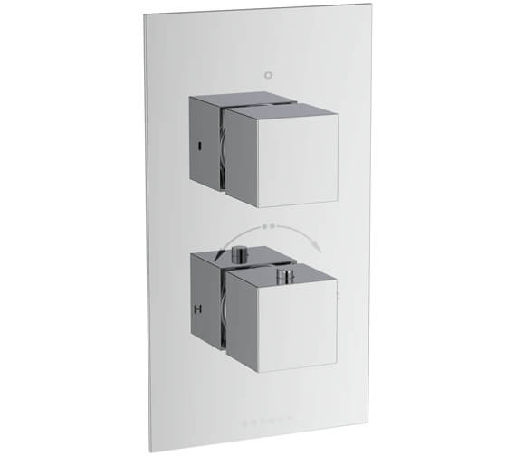 Additional image of Saneux Tooga Concealed One Way Thermostatic Shower Valve