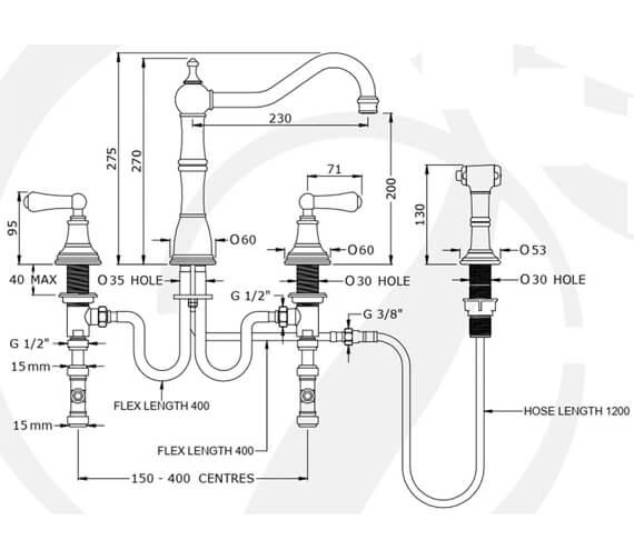 Technical drawing QS-V100294 / 4771CP