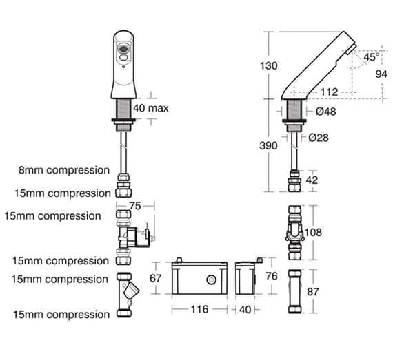 Technical drawing QS-V76898 / A4853AA