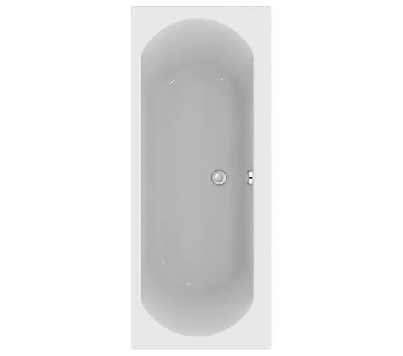 Ideal Standard Tesi 1700mm x 700mm Double-Ended Idealform Plus Bath With No Taphole