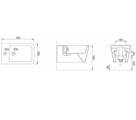Technical drawing QS-V102485 / 83122