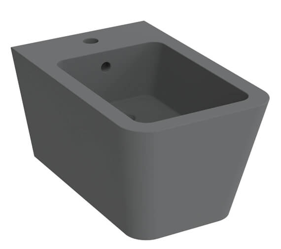 Alternate image of Saneux Icon Square 1 Tap Hole Wall Hung Bidet