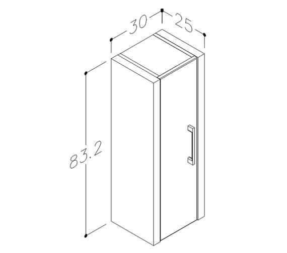 Technical drawing QS-V98090 / FU397