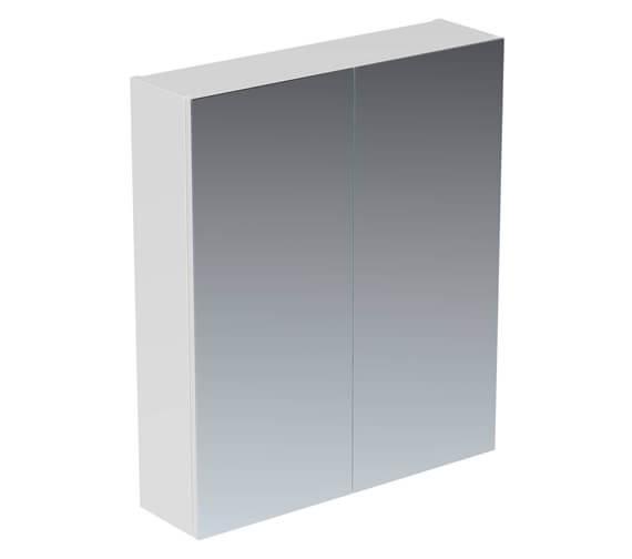 Saneux Austen 600mm 2 Door Mirror Cabinet