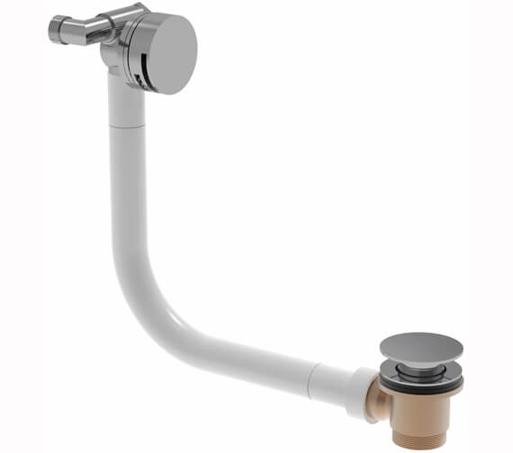 Saneux Cos Round Bath Filler With Clicker Waste And Overflow