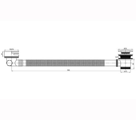 Technical drawing QS-V86343 / CO100