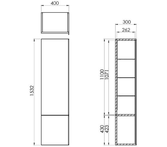 Technical drawing QS-V29637 / PR040S.W
