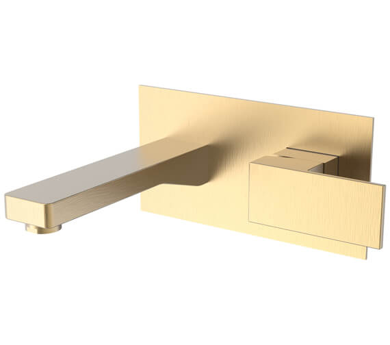 Additional image of Saneux Tooga Wall Mounted Basin Mixer Tap