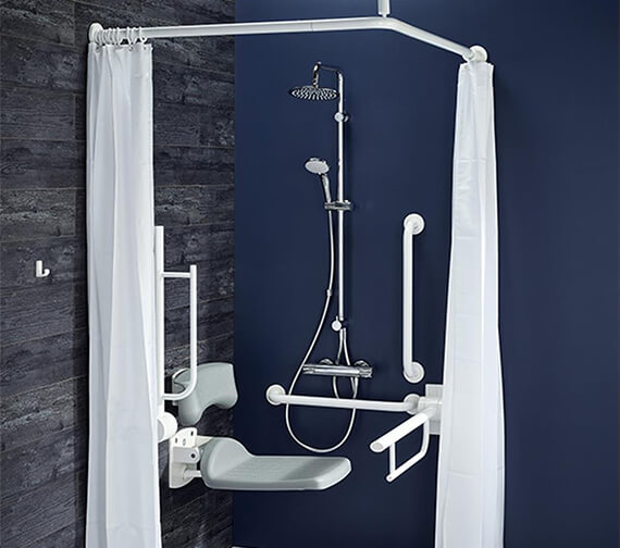 Armitage Shanks Doc M Exposed Shower Room Pack - Easy To Clean