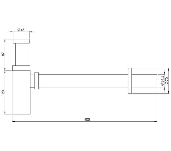 Technical drawing QS-V29506 / TO9570